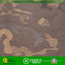 Skull with Camouflage Design Polyester Yarn Dyed Fabric for Padded Jacket