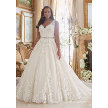 A Line Lace Bridal Prom Bridal Gown Wedding Dress