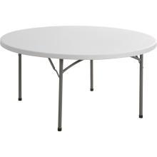 Tabla plegable redonda plástica del 160cm, tabla que acampa, tabla de conferencia