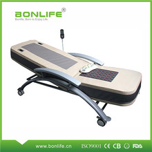 Medical And Hospital Use Jade Heating Thermal Therapy Massage Bed With Wheels