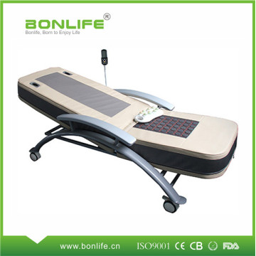 Smart Jade Heating Thermal Therapy Massage Bed With Wheels