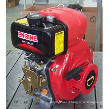 Motor a diesel de cilindro único tipo Itália Td170fi