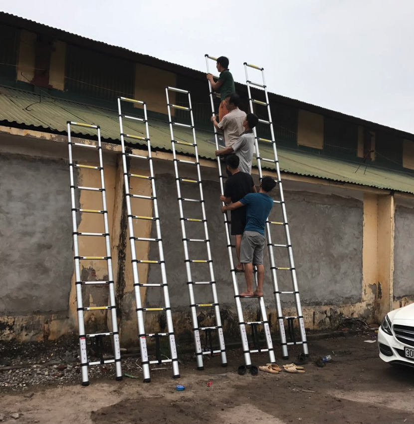 aluminum telescopic ladder (13)