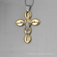 Мода Иисус крест подвески, золотой крест подвески оптовая