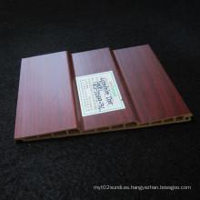 Película del PVC del panel Wd-132h9-3L de la puerta deslizante de WPC laminada