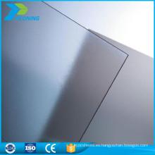 Anti-UV 10 mm de policarbonato sólida hoja de techado helado