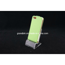 Heißer Verkauf Flip Leder Haut für iPhone5, Handy Leder Fällen (RAIN-20130914-04)
