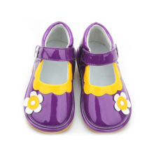 Autumn Child Shoes with Sound Cute Flower Shoes for Kids