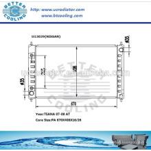 Radiateur pour voiture NISSAN TEANA 07-08 AT OEM: 21460-JN00A-A128 / 21400-ET000
