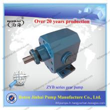 Pompe à engrenage à huile diesel de la série ZYB