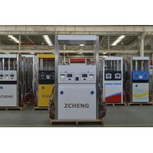 Station d'essence Zcheng Distributeur CNG Deux tuyaux