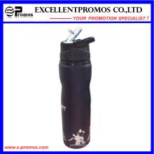 Promocional personalizado aço inoxidável esportes garrafa de água com bocal de sucção (EP-B58409)