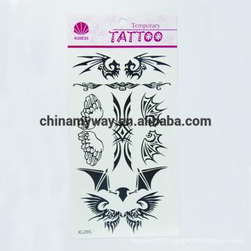 Autocollant temporaire pour le corps imperméable non toxique, autocollant de tatouage personnalisé