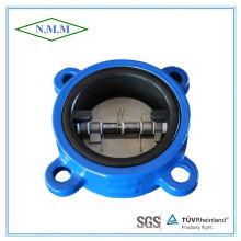 Cast Iron Rubber Coated Double Disc Swing Check Valve
