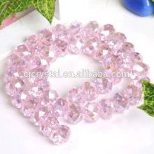 2016 wholesale dekorative gem rondelle perlen, rondelle perlen, perlen