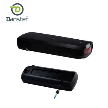 Big capacity rear rack rechargeable lithium battery
