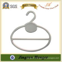 White Round Scarf Hanger