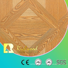 12.3mm AC4 Embossed Oak Sound Absorbing Parquet Wooden Laminated Flooring