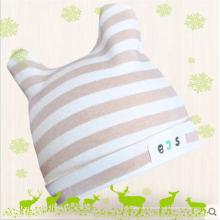 Sombrero de algodón orgánico natural para bebé