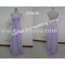 2011 nuevo vestido de noche del grano del leopardo del diseño ED5658