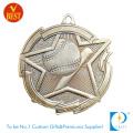 Presión de alta calidad de la aleación del cinc que sella la medalla de encargo del béisbol 3D con diseño especial