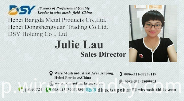 business card Julie