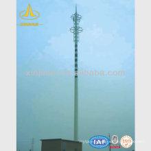 Pôle télescopique d'antenne à micro-ondes télescopique