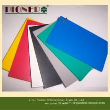 Matériel de PVC et panneau de mousse de PVC de couleur transparente