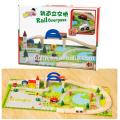 Горячая распродажа деревянные головоломки железнодорожного тран образования игрушка