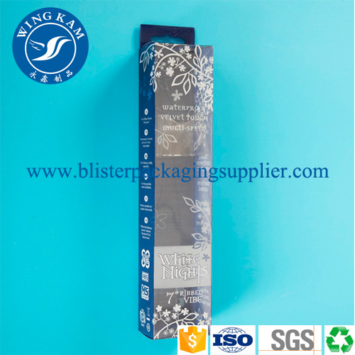 Small Thin Capacity White Blue Color Plastic Folding Packaging for Long Products