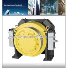 Лифтовая тяга, лифтовая коробка, тяговый двигатель лифта