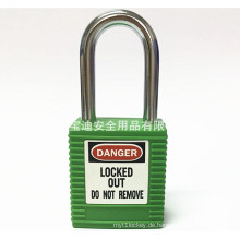 BAODI Sicherheitssperre Stahl Sicherheitsvorhängeschloss BDS-S8601 Green Shape B