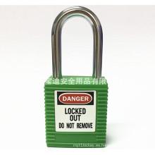 Bloqueo de seguridad BAODI Candado de seguridad de acero BDS-S8601 Verde Forma B