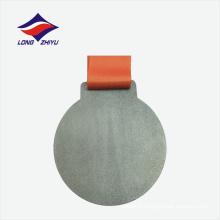 Antique color factory design personnalisé modèle de médaille de matériau alliage de zinc