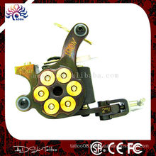 Bullet iron handmade shader tattoo machine