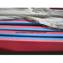 Tapis de puzzle de tapis de mousse d'EVA de 100 * 100 * 4cm pour l'exportation