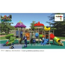 B10211 Hochwertiger Kunststoff-Spielplatz-Hersteller