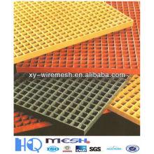 Grille à barre de fibre de verre / grille de barre utilisée pour l'usine chimique de guangzhou Chine