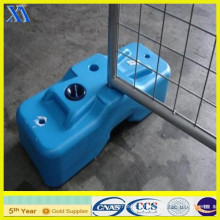 Temporary Fencing with Plastic Feet