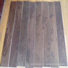 Revestimento de madeira de nogueira americana engenharia UV lacado