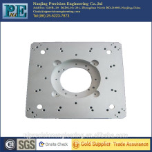 Customized precision aluminum alloy CNC milling square plate