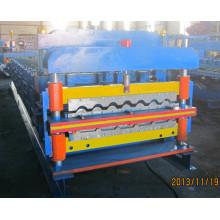 Máquina formadora de rodillos para tejas
