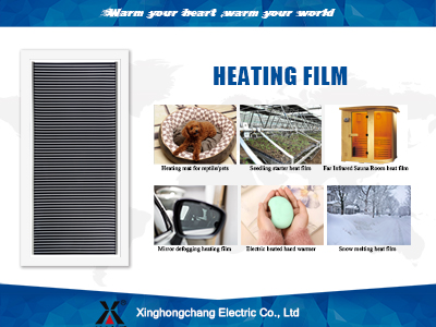heat film and heat pads