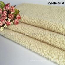 100% Polyester Faux Sherpa Fur Eshp-04A