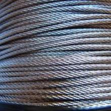 Cable de acero inoxidable 316 1x19 3,18 mm