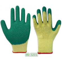 10g 2 Threads Polycotton Latex Palm Coating Glove