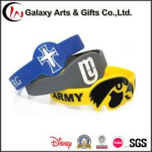 Al por mayor Nuevo Producto Personalizado Figured Impreso Wristband Silicone Decoration
