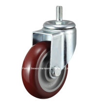 Caster Medium Duty Screw Type Polyurethane Caster