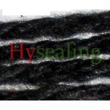 Spun Carbonized Fiber for Braiding Packing