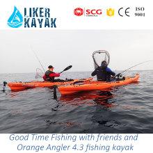 Novo Design Bom Desempenho Lazer Pesca Kayaks Barco Motor